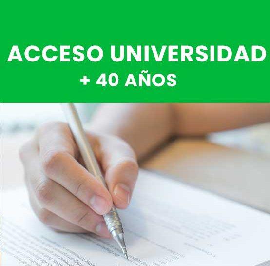 Acceso Univ. +40