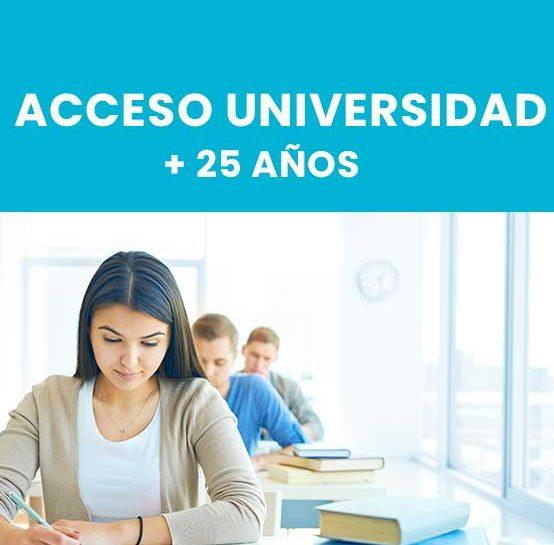 Acceso Univ. +25